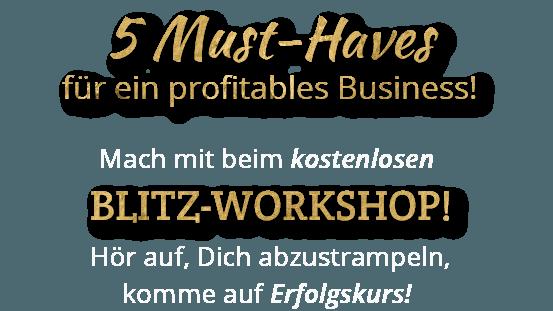 Logo 5 Must-Haves für ein profitables Business