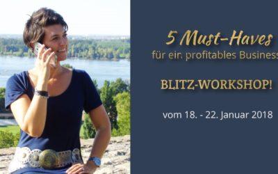 Marketing als Basis für unternehmerischen Erfolg: 5 Must-Haves für ein profitables Business!